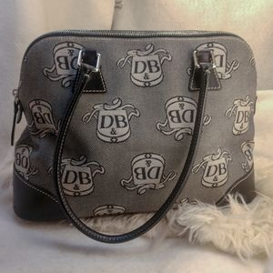 Authentic grey Dooney & Bourke purse handbag